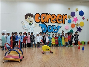 Career Day at the our preschool