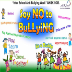 INTER SCHOOL ANTI BULLYING WEEK PRESCHOOL 2016