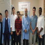 al Hussan International School participated in the blood donation campaign at Saad Hospital