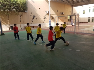 Grade 3-4 Football-Boys section