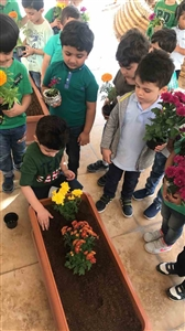 KG department in the Gardening day