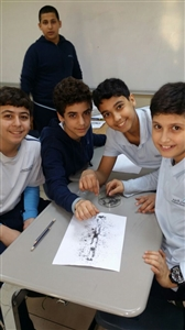 Science class activities-Boys Section