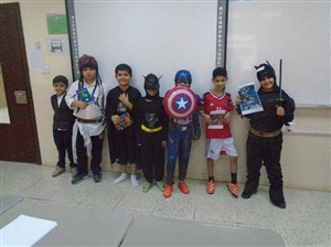 Character day grade 4