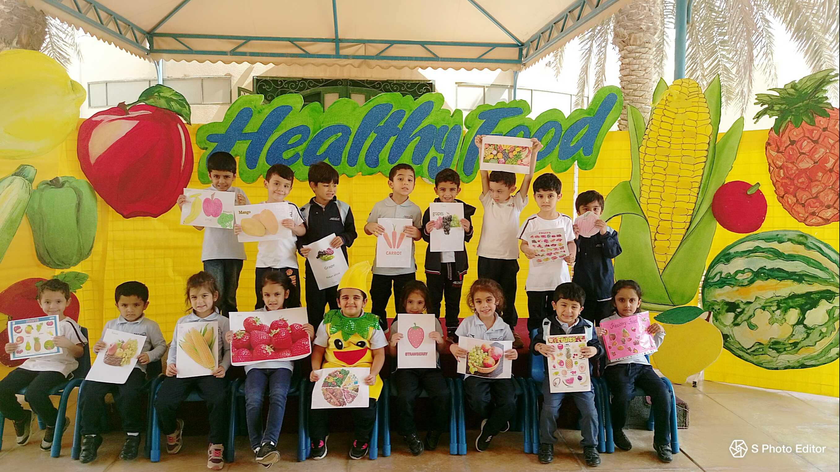 Al Hussan International|| Pre-School Healthy Food Week (KG-1 and KG-2)
